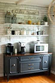 Buffet Table With Hutch Kitchen Food Rustic Dining Room And