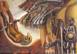 David Alfaro Siqueiros Murales La Nueva Democracia by El Extranjero Blog Archive Mural Painting Of The Mexican