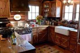 Rustic Log Cabin Kitchen Ideas by Small Log Cabin Kitchens Home Design Ideas Pictures Rustic Cabin