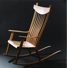 Sam Maloof Rocking Chair Class by Matko Peckay Furniture