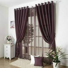 new arrival solid color curtains for living room plain curtains