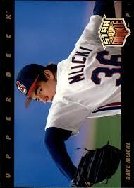 1993 Upper Deck Top Prospect Derek Jeter by 1993 Upper Deck 17 Dave Mlicki Nm Mt Card Gallery Beckett