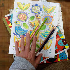 Out Colored Pencils Markers Pens And Alcohol I Like The Best For All Round Coloring Especially On Detailed Images
