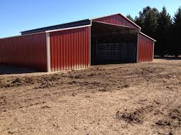 Steel Barn Stables VERTICAL HORSE BARN 42x36 Metal Building FREE