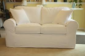 Cindy Crawford White Denim Sofa by White Denim Sofa U0026 Loveseat Twill Slipcover Studio
