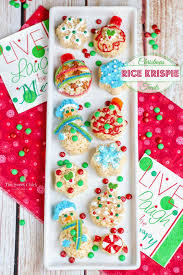Rice Krispie Christmas Trees Recipe by The Sweet Christmas Rice Krispie Treats