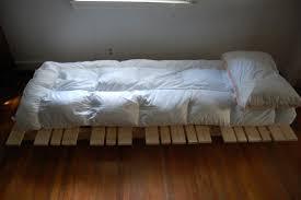 how to build a simple platform bed frame bunk bed plans free diy
