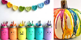 Diy Rainbow Crafts Make Smile All Day Long
