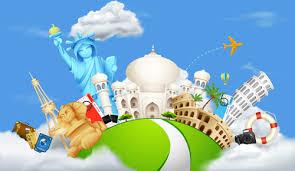 Vector Set Of World Travel Design Graphics