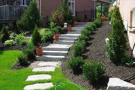 Landscaping Uphill Landscaping Ideas Tips U Paramount Blog Steps ... Best 25 Sloped Backyard Landscaping Ideas On Pinterest A Possibility For Our Landslide The Side Of House How To Landscape A Sloping Backyard Diy Design Ideas On Hill Izvipicom Around Deck Gray Trending Garden Quiet Corner Sixprit Decorps 845 Best Outdoor Images Living Landscaping Debra Kraft Aging In Place Garden Archives In Day Designs Uphill With Slope Step By Steps And Stairs Timbers
