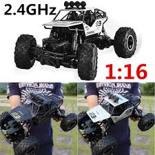 100 Monster Truck Toys For Kids RC Car 116 Remote Control High Speed Vehicle 24Ghz Electric RC