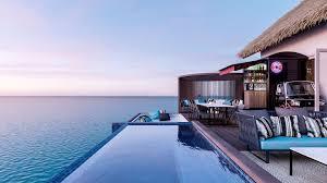 100 Maldives Infinity Pool Overwater Villa Ocean View Villas Hard Rock