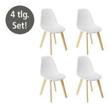 möbel 4x stuhl fiore stuhl set modern kollektion