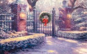 Thomas Kinkade Christmas Tree Cottage by Images Of Thomas Kinkade Christmas Cottage Painting Christmas