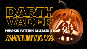 Darth Vader Pumpkin Carving Ideas by Darth Vader Pumpkin Pattern By Zombiepumpkins Com Youtube