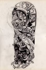 New Cool Funny Pictures Full Sleeve Tattoo Designs Half