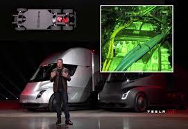 Sneak Peek At Tesla Semi's Four Model 3 Electric Motors And Gearbox