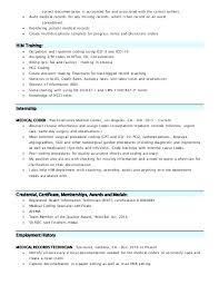 Sample Resume Medical Records Specialist With Coder Functional For Make Astonishing Best Examples Forbes 237