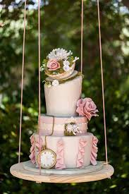 Hanging Floating And Upside Down Wedding Cakes We Love This Moncheribridals Sweet Traders