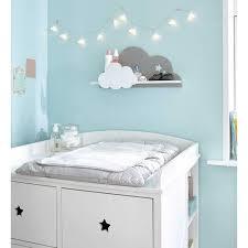 étagère murale pour chambre bébé étagère murale nuage blanc gris 24 x 50 cm étagères murale nuage