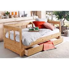 home affaire daybett aira mit ausziehbarer liegefläche