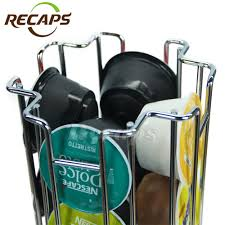 Recaps Coffee Pods Holder 32 Dolce Gusto 360 Degree Rotating ...