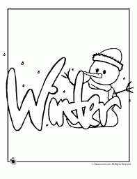 Winter Spring Summer And Fall Coloring Pages Woo Jr Kids With Printable
