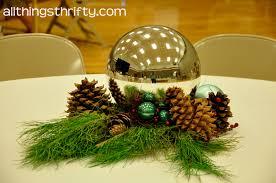 Pine Cone Christmas Tree Centerpiece by Centerpieces For Christmas Peeinn Com