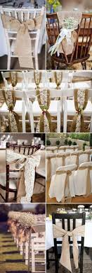 Burlap Weddiong Chair Decor Ideas For Rustic And Vintage Weddings ChairWedding BurlapWeddings