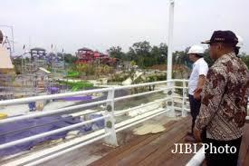 Adventure Pirates Waterpark Penjabat Bupati Sleman Gatot Saptadi Meninjau Proyek Pembangunan Jogja Bay Maguwoharjo Jumat