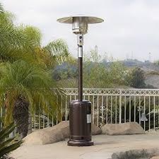 Garden Treasures Gas Patio Heater Assembly Instructions by Amazon Com Amazonbasics Havana Bronze Commercial Patio Heater
