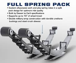 100 Truck Suspension Carli CSFFSP05 Full Spring Pack Ford 0507