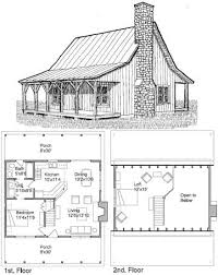 Surprising Design Ideas 9 Cabin Plans With Loft And Porch Small