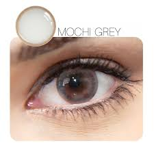 1 Piece】Mochi Prescription Grey 1 Piece 12 Month Contact Lenses