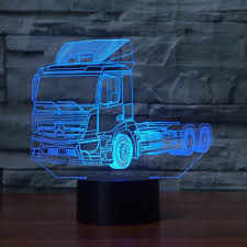 3D LED Truck Vehicle Shape Desk Lamp 7 Color Changing Autotruck ... 18th Annual Richard Crane Memorial Truck Show And Light Parade Part Realistic Front View At Night Stock Vector Kloromanam Free Images White Asphalt Transport Vehicle Truck Night In America Tv Listings Schedule Episode Guide Breakdown Change On Mobile Tyre Team Pickup Blue Vehicle On Road Over City Buildings Bells Family Food Lower La River Revitalization Plan Home Facebook In Spicy Takes The Green Hell