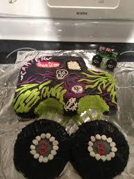 100 Monster Truck Cake Pan Grave Digger