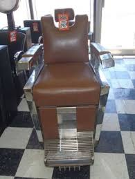 these are 2 fully functional 1959 emil j paidar barber chair my