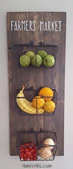 Tutorial Of A DIY Farmers Market Fruit Basket Tap The Link Now To Find Hottest Products For Your Kitchen