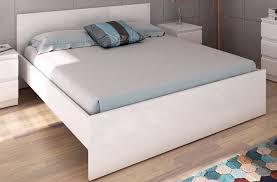 bettgestell naia bett 140 x 190 cm weiß hochglanz günstig möbel küchen büromöbel kaufen froschkönig24