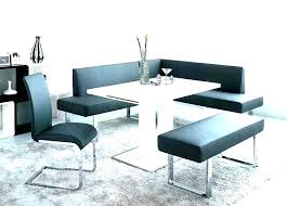 Upholstered Dining Table Bench With Back Modern Din Benches For Tables