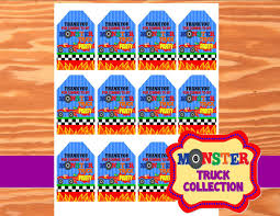 MONSTER Truck - Monster Truck THANK YOU TAGS - Truck- Monster ... Monster Jam 3d Sticker Sheet1 Jam Monsters And Party September 2010 Modern Hostess Page 2 Colors Truck Supplies Nz With Birthdayexpresscom Ideas For A 70th Birthday Invitation Tags 70th An Eventful 5th Its Fun 4 Me Product Categories Trucks South Africa
