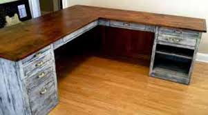 Rustic L Shaped Office Desk Fresh From Furniture The Barn See More