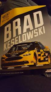 Brad's From Alliance Truck Parts. : NASCARHeroCards