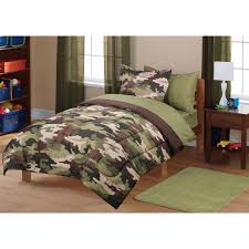 Camo Bedding Walmart by Mainstays Kids39 Camoflauge Coordinated Bedding Set Walmart Army