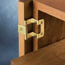 Installing Non Mortise Cabinet Hinges by 270 Overlay Hinge Rockler Woodworking And Hardware