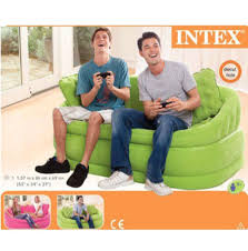 Intex Inflatable Sofa Uk by Intex Inflatable Flocked Settee Air Sofa Lounger Chair Couch Cafe