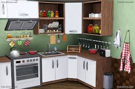 kitchen decor set by darasims oh my finds sims buy