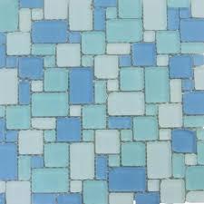 splashback tile wave pattern beached frosted glass