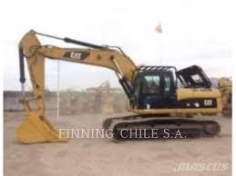 100 Caterpillar Chile Used 329DL Crawler Excavators Year 2012 Price US