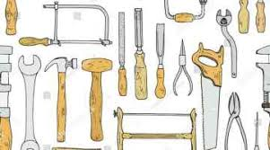 Plank Stock Photo Seamless Tool Shutterstock Woodworking Hand Tools Clipart Background